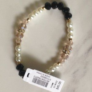 White House Black Market Bead Bracelet NWT